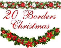 secret santa border clip art page border and vector graphics