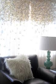 diy anthropologie knock off flutter curtains