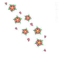 cherry blossom tattoo flash by spookyzombie on deviantart