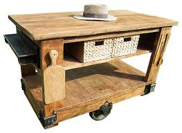 rustic kitchen islands and carts rustic kitchen island cart with butcher block top modern