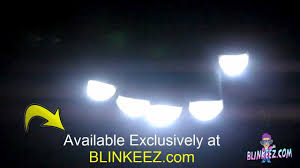 black flashing led light up gloves with flashing white leds at
