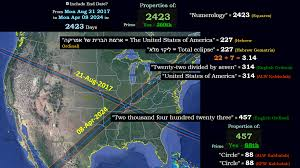 america map for eclipse navigation system history by the numbers gematrinator