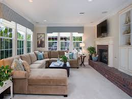 comfortable furniture for family room sectional sofas family room traditional with corner sofa built in