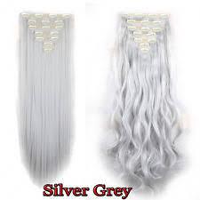 ladies hair pieces for gray hair silver grey hair pieces ebay