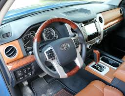 nissan tundra interior 2017 toyota tundra 1794 edition test drive review