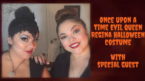 once upon a time evil queen regina halloween costume tutorial
