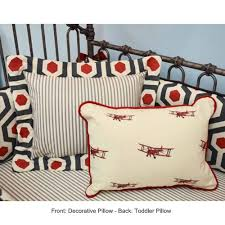 Airplane Toddler Bedding High Flying Vintage Airplane Baby Bedding And Nursery Necessities