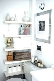Decorate Bathroom Shelves Shelf Ideas For Bathroom Justget Club