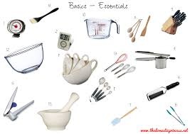 kitchen tools and equipment cute common kitchen utensils names