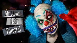 bald cap spirit halloween mr clown u0027s hair