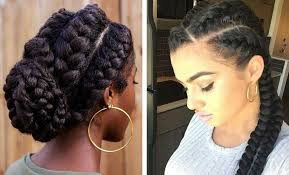 parting hair when braiding a ball 31 goddess braids hairstyles for black women stayglam