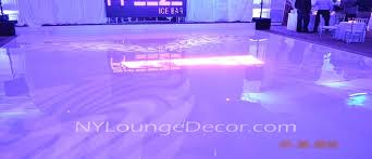 white floor rental ny lounge decor seamless acrylic floor