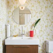san francisco jonathan adler greek key wallpaper bathroom