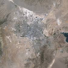 Map Of Las Vegas Strip by 25 Years Of Growth In Las Vegas Image Of The Day
