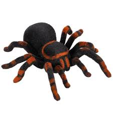 Gift Halloween by Radio Control Rc Simulation Furry Tarantula Electronic Spider Toy