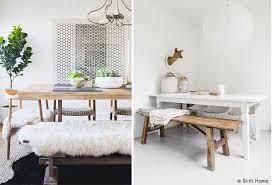 banc pour cuisine table et banc de cuisine maison design wiblia com