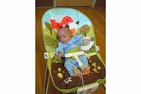 Can Baby Sleep In Vibrating Chair Bouncers Ok For Preemies Newborns Babycenter