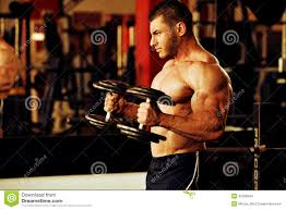 bodybuilder hard training gym stock photos images u0026 pictures