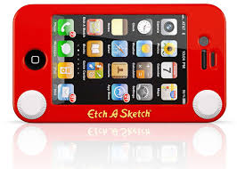 etch a sketch iphone case still won u0027t help you draw curves technabob