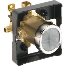 multichoice universal tub and shower valve in kit with