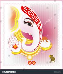 Wedding Invitation Cards Hindu Indian Hindu Wedding Invitation Card Indian Hindu Stock Vector