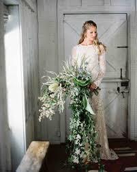 Gorgeous Wedding Gowns Martha Stewart by 40 Chic Cascading Wedding Bouquets Martha Stewart Weddings