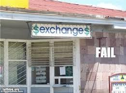 bureau de change auber the s funniest design fails dollar sign