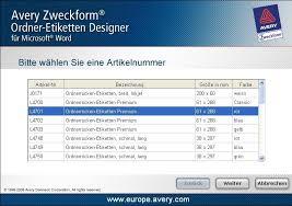 zweckform design pro avery zweckform ordner designer software 7 1 1007 0