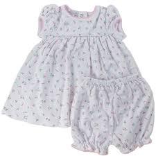 kissy kissy sleeve pink floral print dress and bloomer set