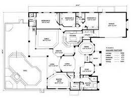 Home Design Concrete Block House Plans Horseshoe Shaped