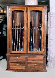 wooden gun cabinet american furniture classics 4 gun wall rack
