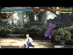 theme psp fate stay night ppsspp fate unlimited codes undub gameplay youtube
