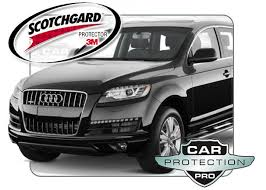 2015 audi q7 base 3m scotchgard clear bra paint protection film