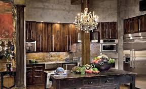 rustic kitchen decorating ideas rustic kitchen decorating ideas with chandelier and