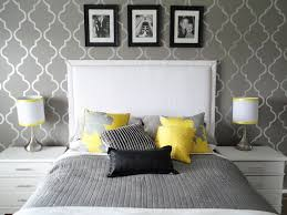 Yellow And Gray Bedroom by Home Design Yellow And Grey Bedroom Decoration Ideas In 87