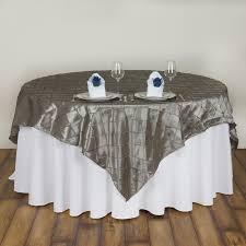 Wedding Table Clothes 15 Pcs 72x72