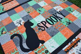 spooky u201d quilt for riley blake designs