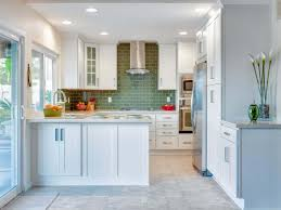kitchen looks ideas small kitchen look bigger paint color idea with green brick style