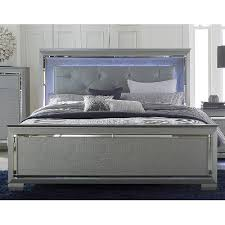 gray queen size bed allura rc willey furniture store