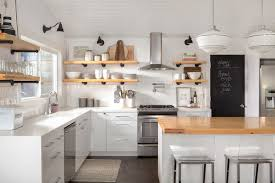 open shelf kitchen cabinet ideas why i combined open shelves and cabinets in my kitchen remodel