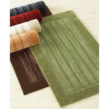 bacova accent rugs argo market bacova tibetan stripe accent rug spruce green