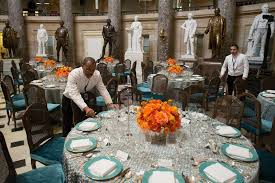 inaugural luncheon head table the presidential inauguration 2013 wildflower linen