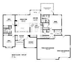ranch floor plans with 3 car garage house plans 3 car garage home decor 2018