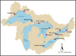 canadian map with great lakes us map including great lakes map 1 web border thempfa org