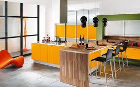 creative kitchen island black pendant light wooden kitchen island orange kitchen cabinet