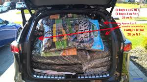 lexus nx luggage capacity cargo capacity 28 cu ft the proof is in the
