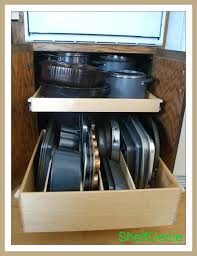 shelfgenie of oklahoma pull out kitchen storage for your jenks