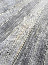 gray concrete floor that looks like washed wood home