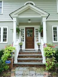 How Much To Build A Dormer Bungalow Building A Front Portico Southern Hospitality