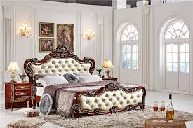 M S Bed Frames Style Bedroom Furniture Wood Size Bed 0409 Ms Series